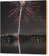4th Of July Wood Print by Lone  Dakota Photography
