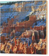 Sunset Point In Bryce Canyon Wood Print by Pierre Leclerc Photography