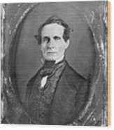 Jefferson Davis Wood Print by Granger
