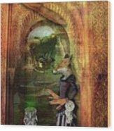Absinthe Of Faith Wood Print by Deile Smith