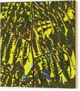Abstract - Dappled Light Wood Print by Kerri Ligatich