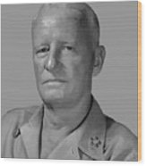 Admiral Chester Nimitz Wood Print by War Is Hell Store