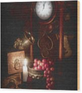 After Midnight Wood Print by Tom Mc Nemar