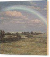 After The Storm Wood Print by Albert Bierstadt