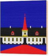 Agersboel Manor House Wood Print by Asbjorn Lonvig