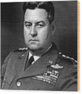 Air Force General Curtis Lemay  Wood Print by War Is Hell Store