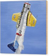 Air Show Wood Print by Marc Stewart