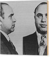 Al Capone 1899-1847, Prohibition Era Wood Print by Everett