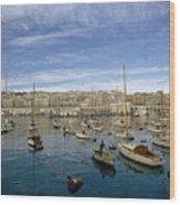 Algerians Call Their Capital Algiers Wood Print by Thomas J. Abercrombie