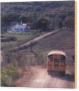 Almost Home Wood Print by Garry McMichael