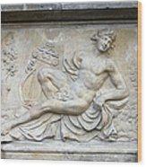 Apollo Relief In Gdansk Wood Print by Artur Bogacki