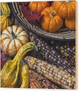 Autumn Abundance Wood Print by Garry Gay