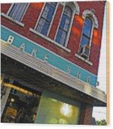 Bake Shop Wood Print by Elizabeth Hoskinson