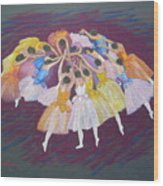 Ballet Dancers Wood Print by Rae  Smith PSC