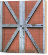Barn Door 3 Wood Print by Dustin K Ryan