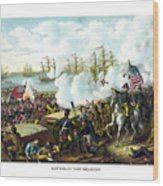 Battle Of New Orleans Wood Print by War Is Hell Store