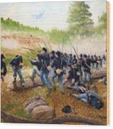 Battle Of Utoy Creek Wood Print by Marc Stewart