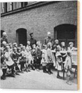 Berlin: Salvation Army Wood Print by Granger