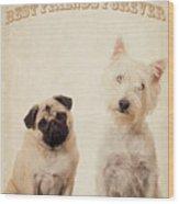 Best Friends Forever Wood Print by Edward Fielding