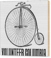 Bicycle Advertisement, 1888 Wood Print by Granger