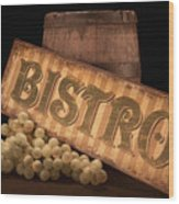 Bistro Still Life IIi Wood Print by Tom Mc Nemar