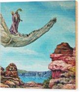 Bogomils Journey Wood Print by Otto Rapp