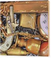 Boyhood Treasures 2 Wood Print by Lawrence Christopher