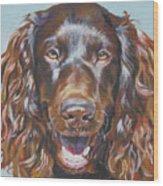 Boykin Spaniel Wood Print by Lee Ann Shepard