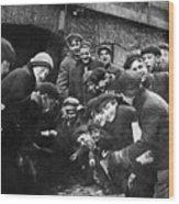 Boys Shooting Craps, C1910 Wood Print by Granger