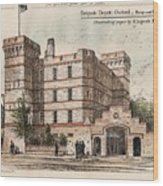 Brigade Depot Oxford England 1880 Wood Print by Ingrefs Bell