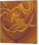 Bright As Yellow Wood Print by Hunter Jay