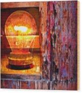 Bright Idea Wood Print by Skip Hunt