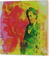 Bruce Springsteen Wood Print by Naxart Studio