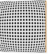Bulge Dots Wood Print by Michael Tompsett