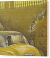 Buscando La Sombra Wood Print by Tomas Castano