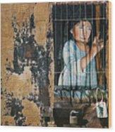 Captive Wood Print by Teresa Carter