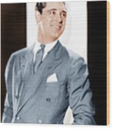 Cary Grant, Ca. Early 1930s Wood Print by Everett