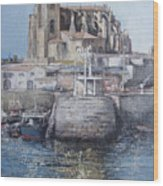 Castro Urdiales Wood Print by Tomas Castano