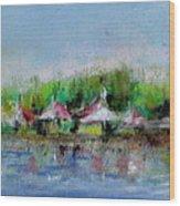 Central Park Ny Wood Print by Joyce A Guariglia