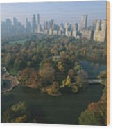 Central Parks Bethesda Fountain Wood Print by Melissa Farlow