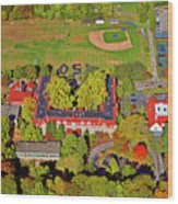 Chestnut Hill Academy 500 West Willow Grove Avenue Wood Print by Duncan Pearson