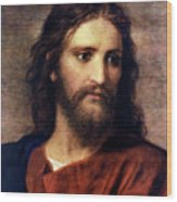 Christ At 33 Wood Print by Heinrich Hofmann