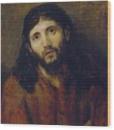 Christ Wood Print by Rembrandt Harmensz van Rijn
