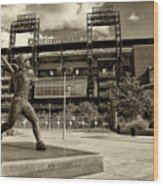 Citizens Park 2 Wood Print by Jack Paolini