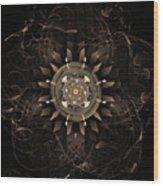 Clockwork Wood Print by John Edwards