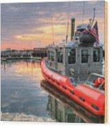 Coast Guard Anacostia Bolling Wood Print by JC Findley