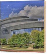 Cobb Energy Center Wood Print by Corky Willis Atlanta Photography