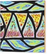 Colorful Longfish Wood Print by Jim Harris