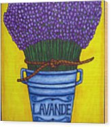 Colours Of Provence Wood Print by Lisa  Lorenz