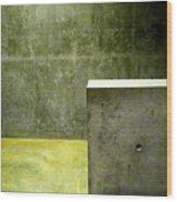 Concrete Wood Print by Slade Roberts